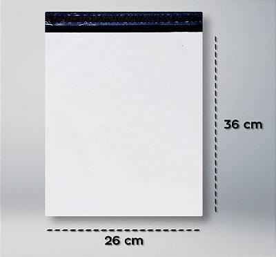 Envelope Plástico de Segurança 26x36 - 100 unidades