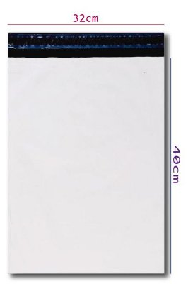 Envelope Plástico de Segurança 32x40 - 500 unidades