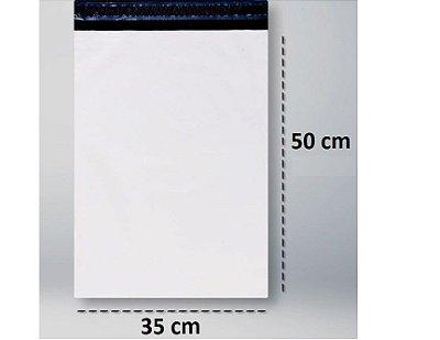 Envelope Plástico de Segurança 35x50 - 100 unidades