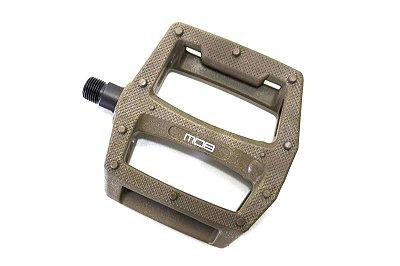 Pedal BMX MOB Jelly Shot Nylon 9/16 Marrom