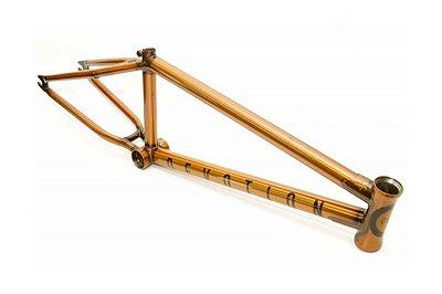 Quadro BMX Cult Devotion Dourado 21