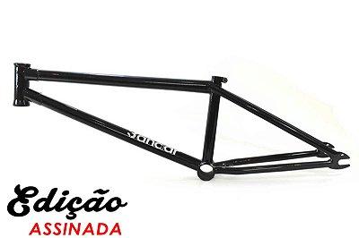 Quadro Master Bikes Bmx 3 Andar 21 Preto 100% Cr-Mo Douguete