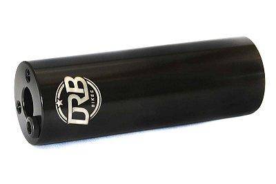 Pedaleira Bmx Drb Bikes OX de Cr-Mo 4130 Preta 10mm / 14mm
