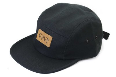 Boné Cult Crew Camper Five Panel Preto
