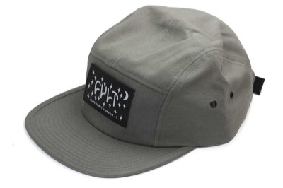 Boné Cult Crew Dream Camper Five Panel Cinza