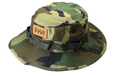 Chapéu Cult Crew Boonie Hat Camuflado C/ Alça