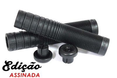 Manopla Sunday Bmx Jake Seeley Preto Sem Flange 160mm