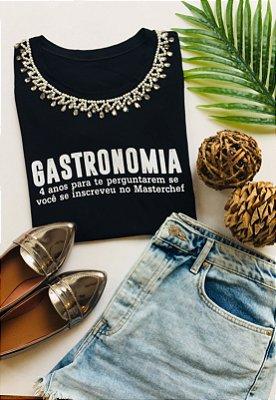 TSHIRT PROFISSÃO GASTRONOMIA