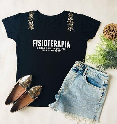 TSHIRT PROFISSÃO FISIOTERAPIA