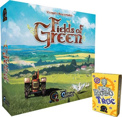 COMBO 4 - Fields of Green + [Pré-Venda] RoboTroc + Promo Game Robot