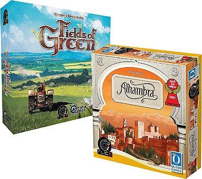 COMBO 3 - Fields of Green + [Pré-Venda] Alhambra + Promo Construções Mágicas
