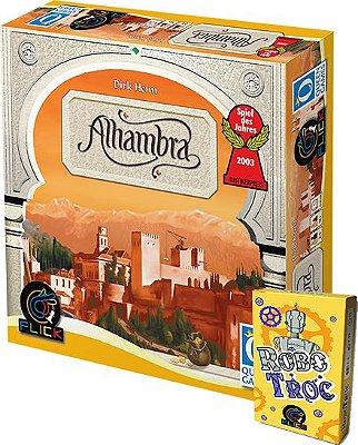 COMBO 2 - [Pré-Venda] Alhambra + [Pré-Venda] RoboTroc + 3 Promos