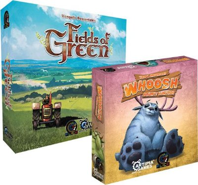 COMBO 5 - Fields of Green + [Pré-Venda] Whoosh