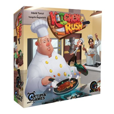 [PRÉ-VENDA] Kitchen Rush