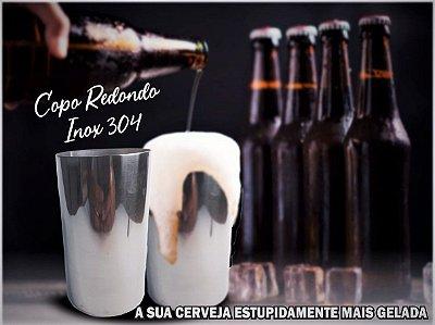 Copo para Cerveja de Inox 304 Sua Cerveja Muito Mais Geladinha