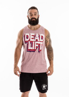 REGATA MASCULINA - DEADLIFT - ROSA