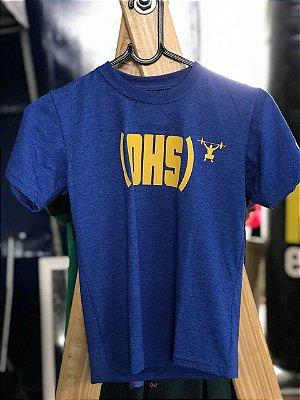 Camisa Infantil - OHS- Azul Caneta