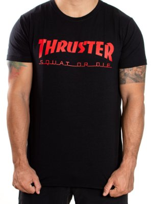 T-SHIRT  - THRUSTER - PRETA