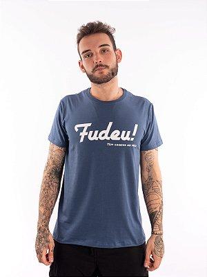 T-shirt Casal Wod - CORRIDA NO WOD! - Azul Jeans