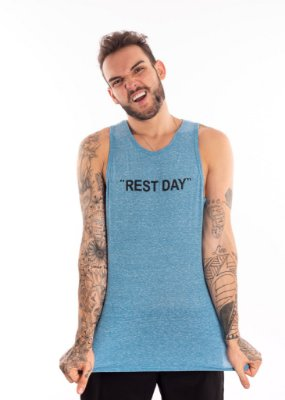 Regata Casal Wod - REST DAY - Azul