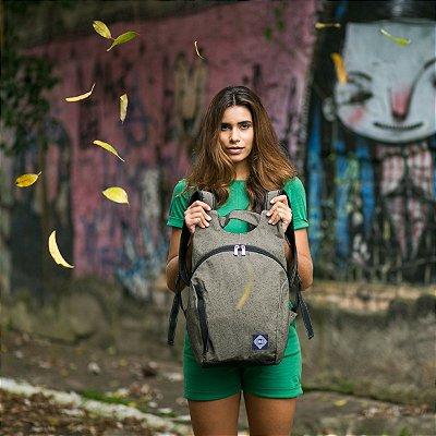 Mochila Para Notebook Cinza | Valentia