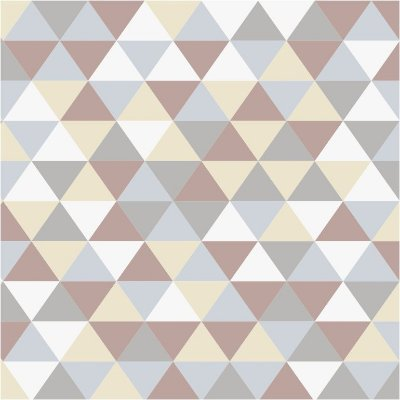 Adesivo Papel de Parede Triangulos