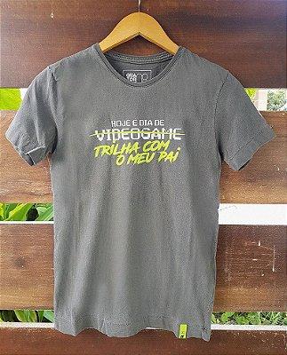 Camiseta Infantil Videogame Estonada Preta
