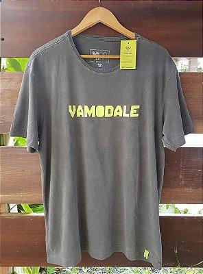 Camiseta Vamo Dale Estonada Preta