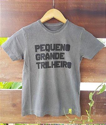 Camiseta Infantil Pequeno Grande Trilheiro Estonada Preta