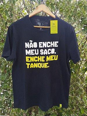 Camiseta Enche meu tanque Preta
