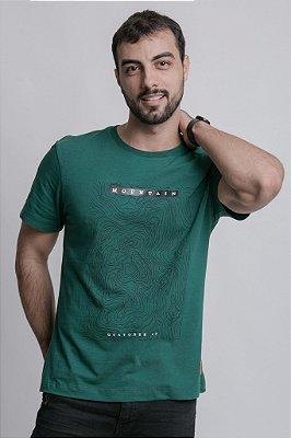 Camiseta Montain Verde Escuro