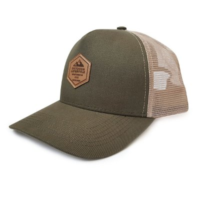 Boné Trucker Outdoor Lifestyle Verde