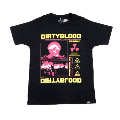 "Camiseta DirtyBlood ""Friends"" - Preta"