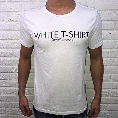 Camiseta Calvin Klein White