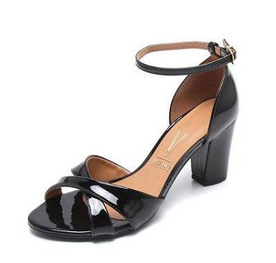54a080c1d9 Sapato Boneca Vizzano Verniz Preto 40103 - Alencar Calçados e Bolsas