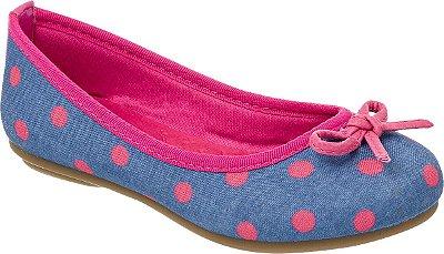 Sapatilha Klin Jully Jeans pink