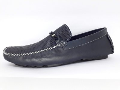 Mocassim Masculino Azul Mr. Light 0022