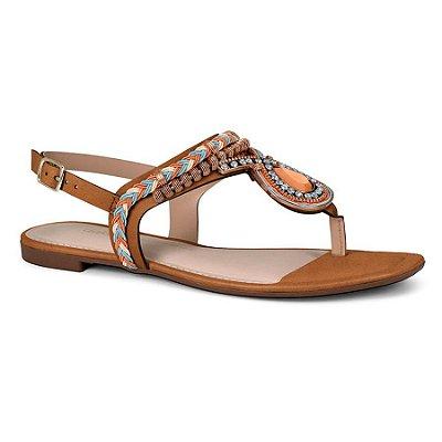 Sandália Dakota Casual Chic Marrom Z5652