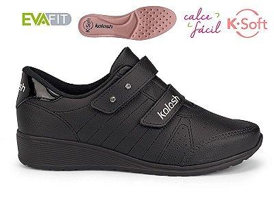 Tênis Anabela K-soft Kolosh Preto C2283
