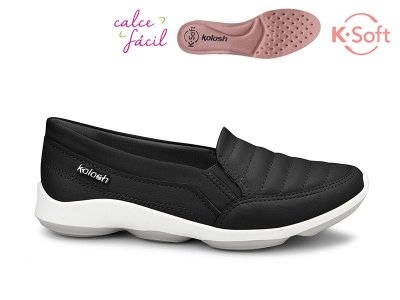 Sapatenis Hades K-soft Casual Chic Kolosh Preto C2382
