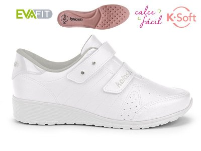 Tênis Anabela K-soft Kolosh Branco C2283