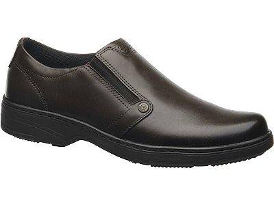 Sapato Social Masculino Couro Pegada Marrom 121272-02