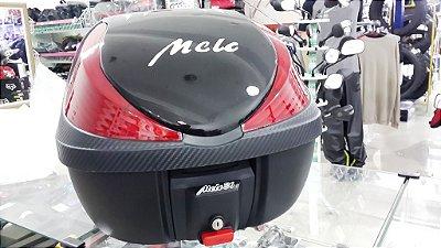 Bauleto (36 Litros Preto/Lente Verm./Logo Branco) - Melc
