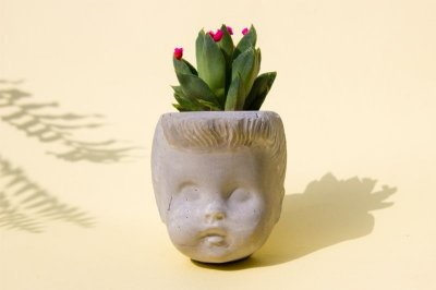 Ladie - Vaso de cimento