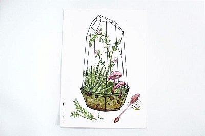 """""""Prantas Cogumelos"""" - Ilustração"""