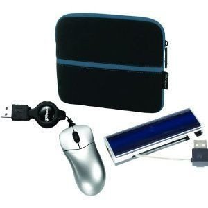 Kit Targus - Case Neoprene 10.1'' + Mini Mouse Retratil + USB Adptador