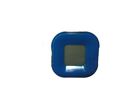 Relógio despertador com luz No IDSY14, Azul