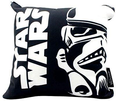 Almofada Stormtrooper - Star Wars - 25X25cm - Zona Criativa