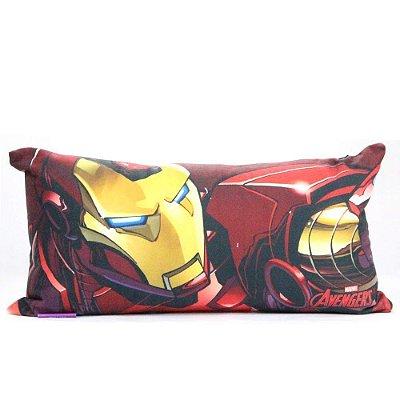 Almofada Iron Man Ícone - 20x40cm - Zona Criativa