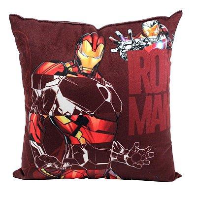 Almofada Iron Tye Dye - Iron Man - 25X25CM - Zona Criativa